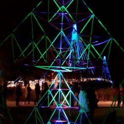 Sierpinski Piramis építés a Fény ünnepén Finnországban az ÉlményMűhellyel