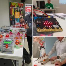 """Az ÉlményMűhely kézműves robotjai a finn INNOKAS Hálózat """"Egész Finnország kódol"""" programjában"""