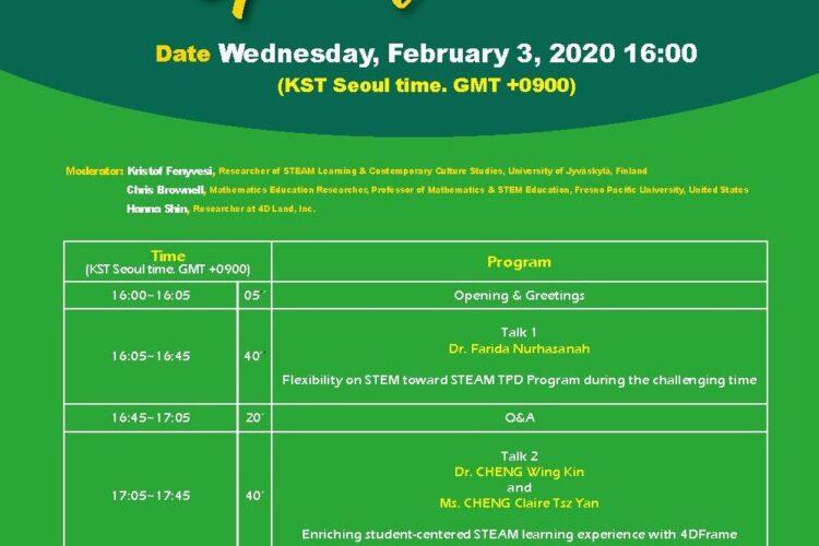 Online STEAM szemináriumsorozat indul február 3-án