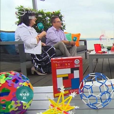ÉlményMűhely a DUNA TV-n: 4Dframe, Itsphun, Mondrian Blocks, SmartEgg